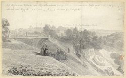 The Entrance To Lord Monson''s Park, Reigate, 1837